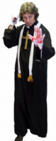 Horror  Vicar Costume